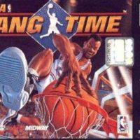 NBA Hangtime N64 jaquette