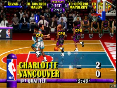 NBA Hangtime N64 match