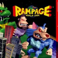 Rampage World Tour N64 jaquette