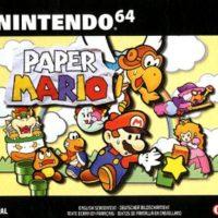 jaquette Paper Mario N64