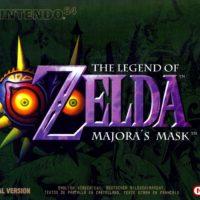 jaquette Majora's Mask N64