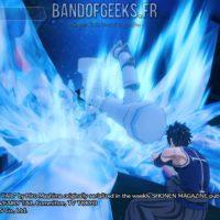 Fairy Tail Grey attaque un ennemi