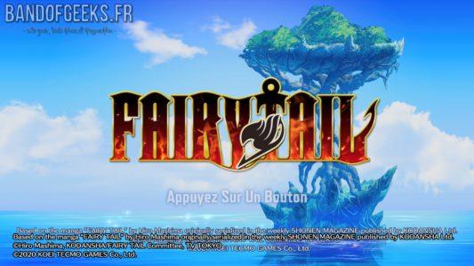 Fairy Tail écran titre