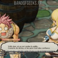 Fairy Tail Natsu et Lucy discutent