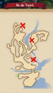 carte bonbons île de Tenro