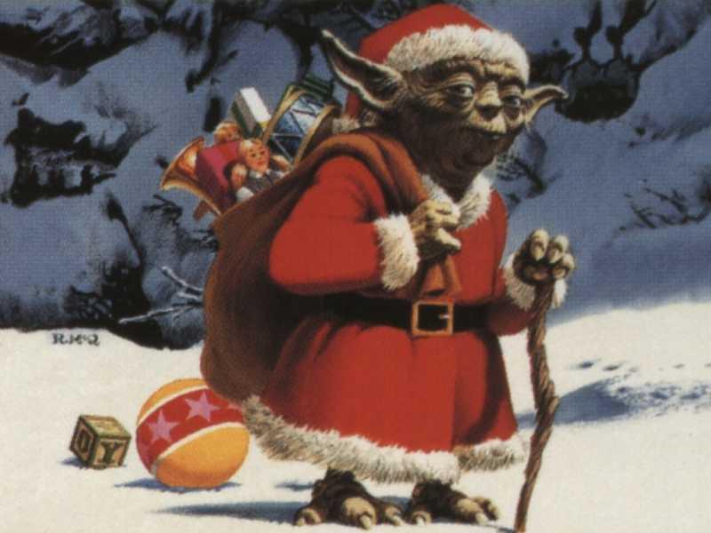 Noël approche Yoda