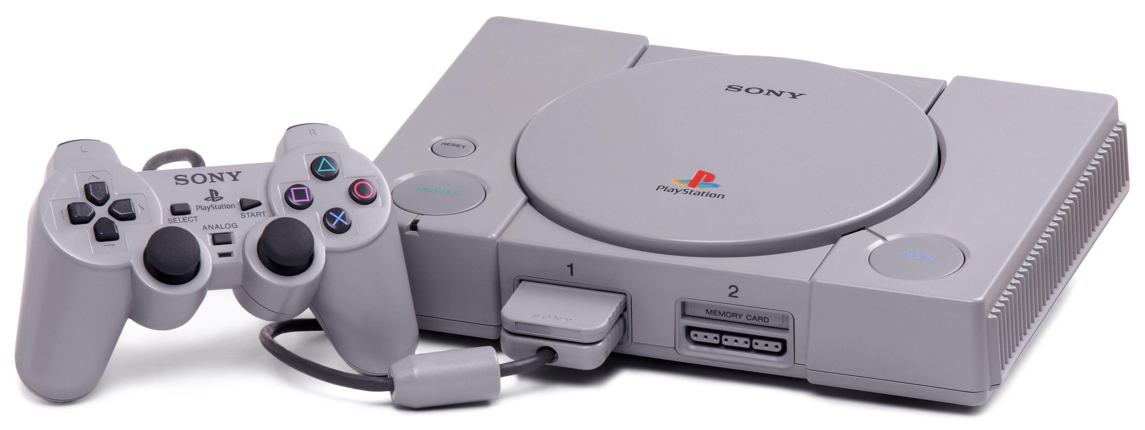 PlayStation console et manette