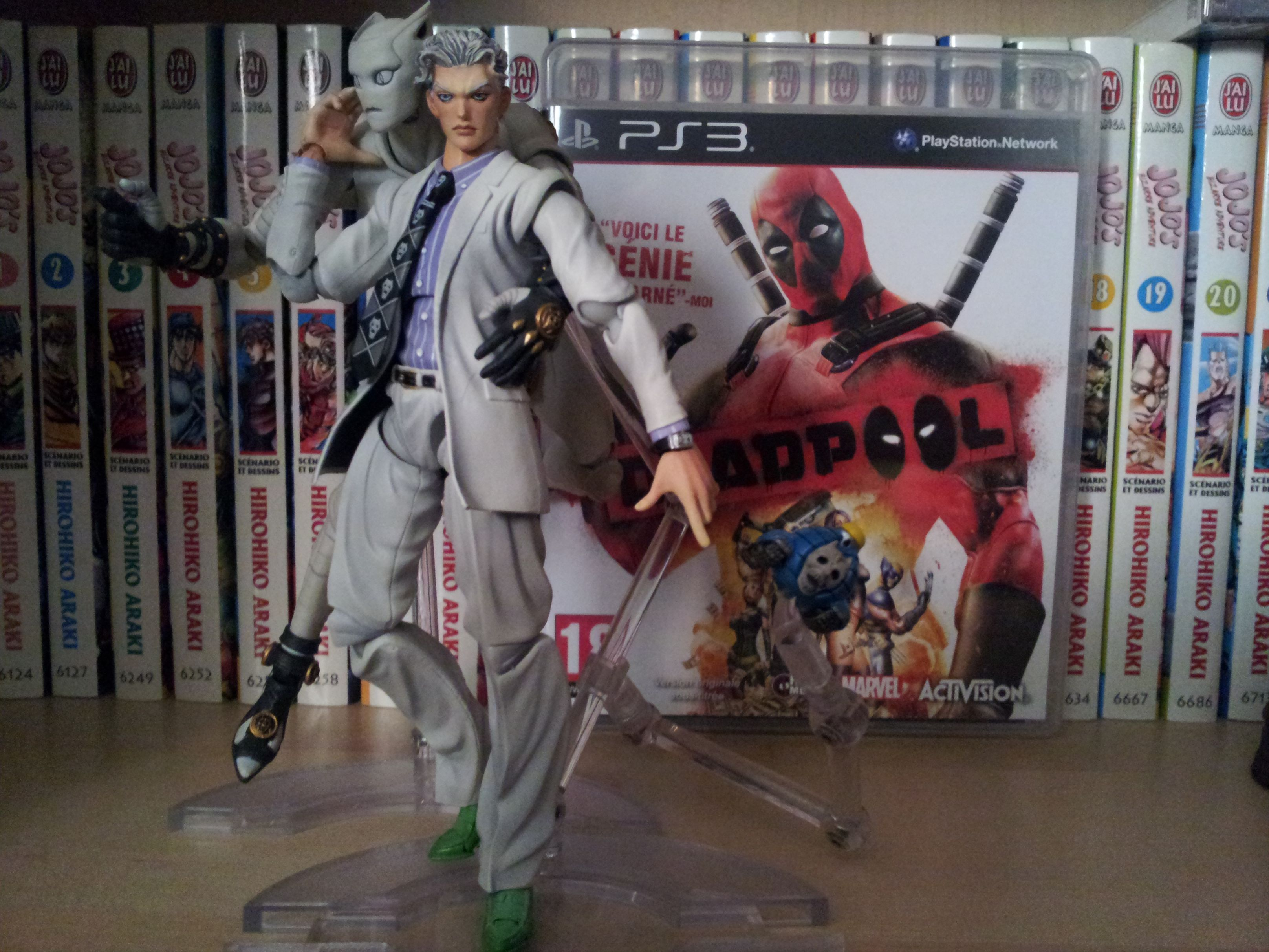 Achat S.A.S Kira Yoshikage Deadpool PS3 Band of Geeks (1)