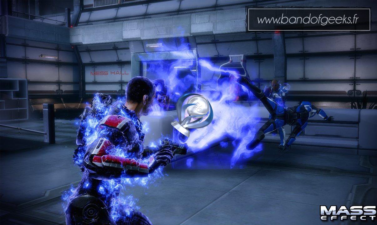117ème trophée platine Mass Effect Band of Geeks (1)