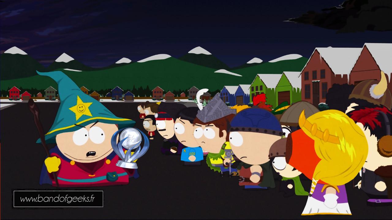 123 trophée Platine South Park Bâton de la vérité Band of Geeks (1)