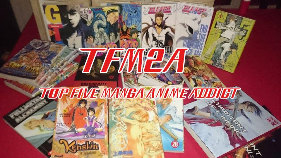 TFM2A collection de mangas