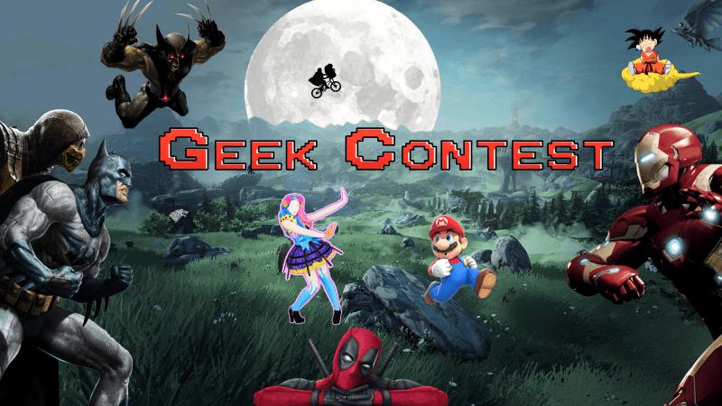 Geek Contest Logo