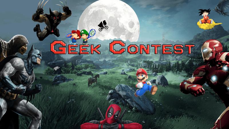 Geek Contest sport logo