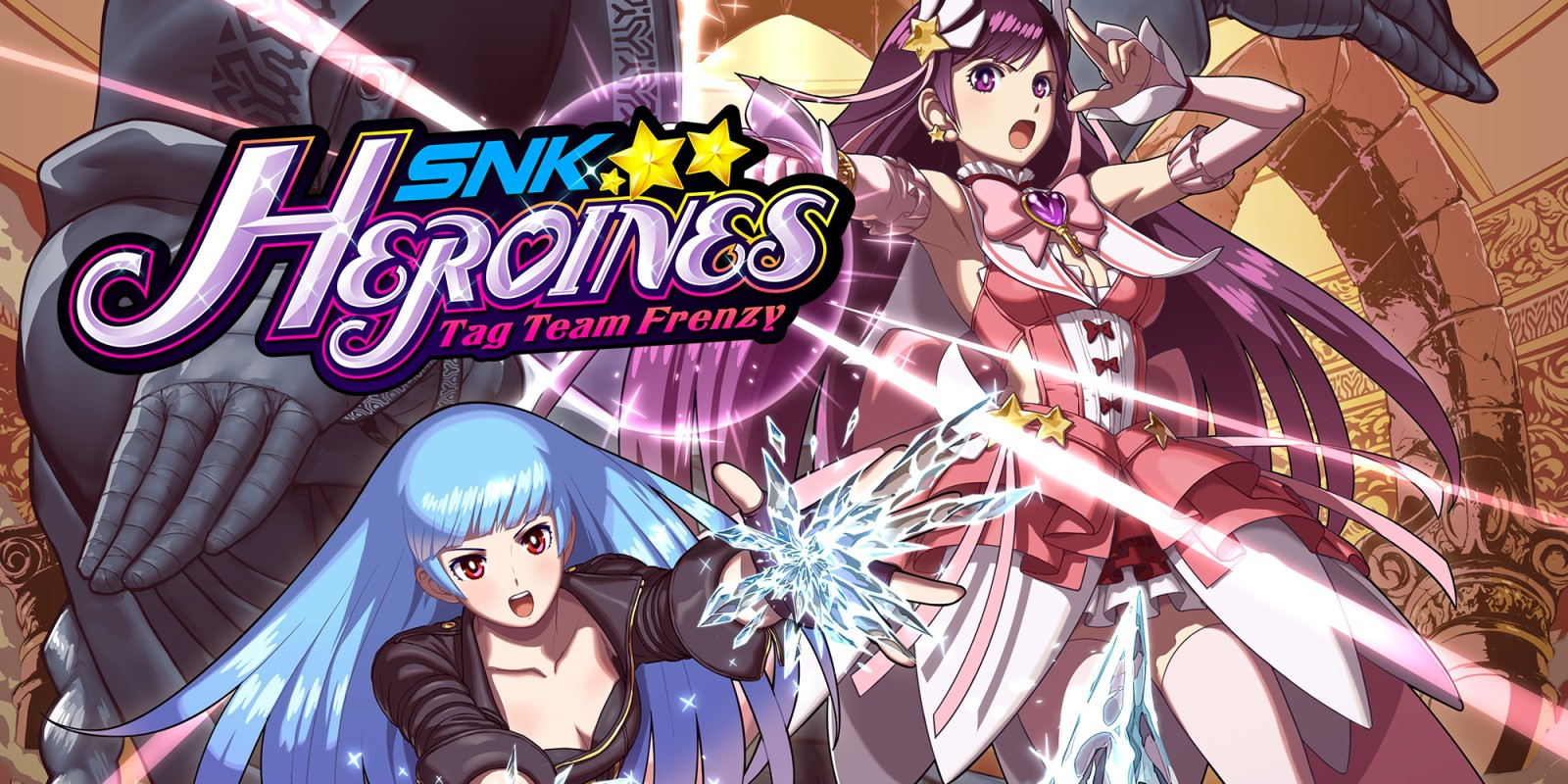 SNK Heroines logo