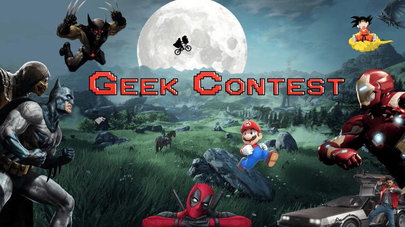 Geek Contest logo technologie