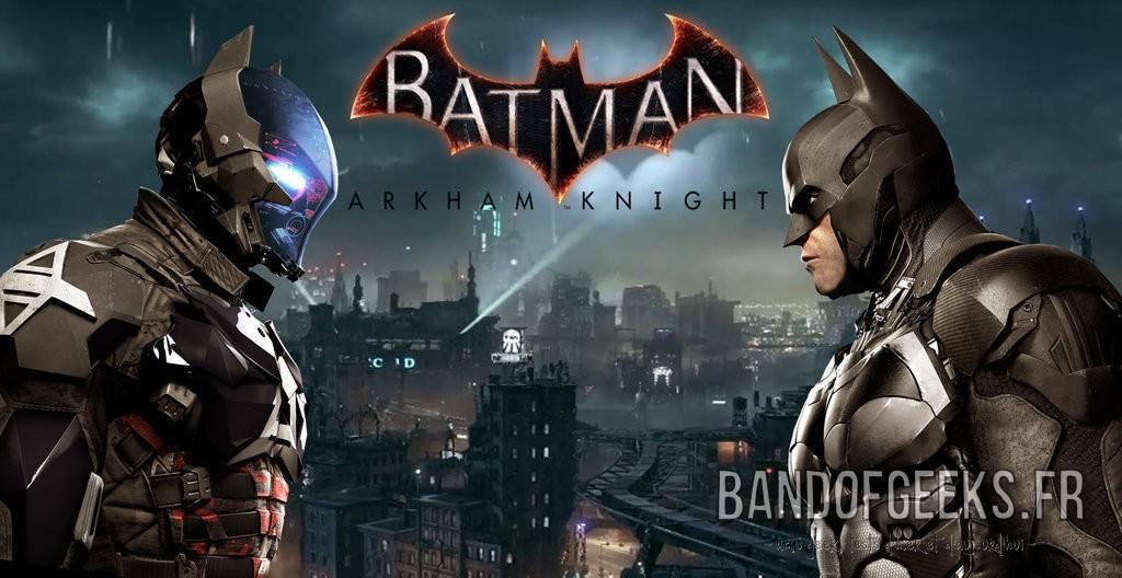 Batman Arkham Knight Batman et le chevalier d'Arkham