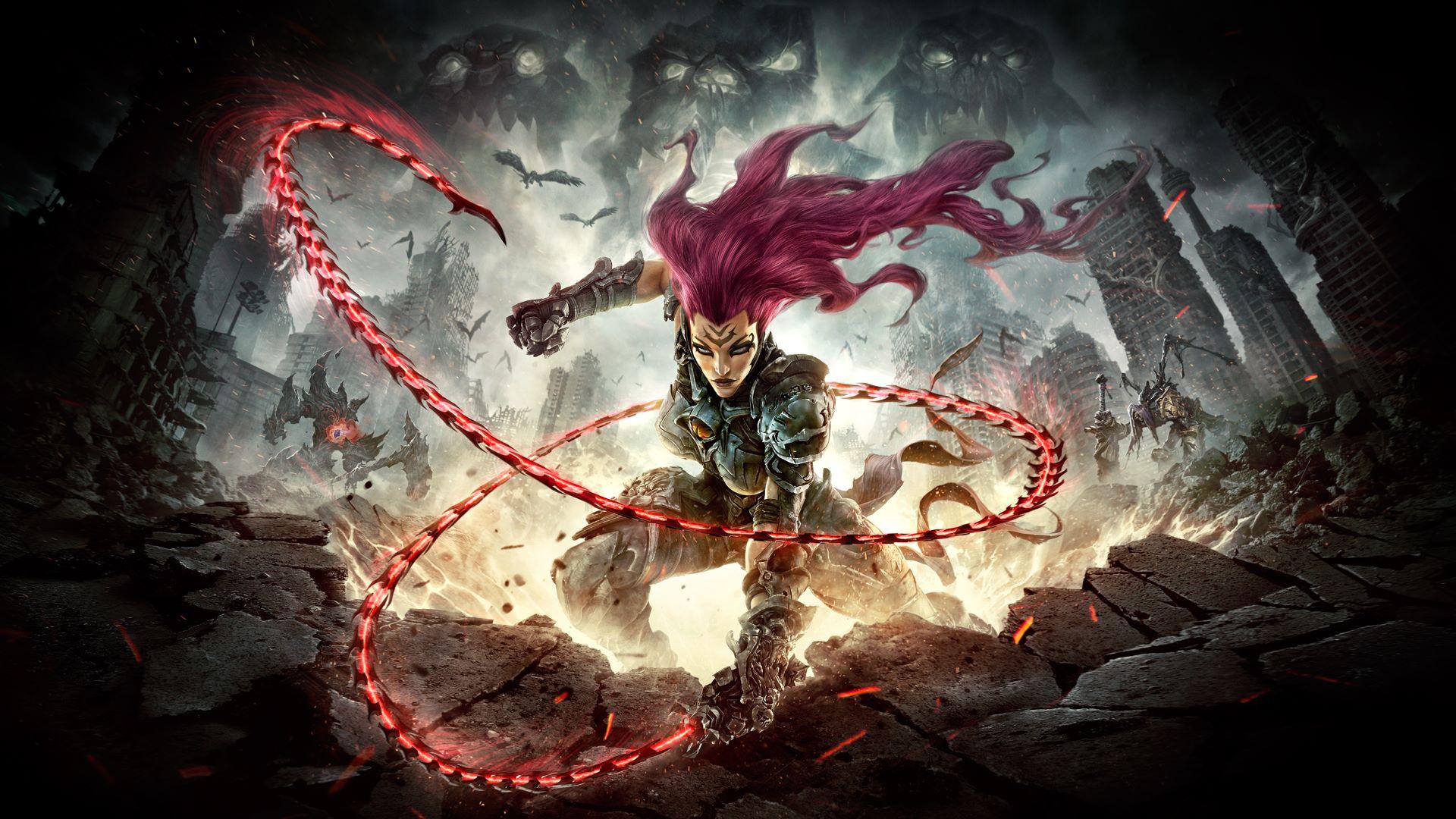 Darksiders III Fury sort son fouet