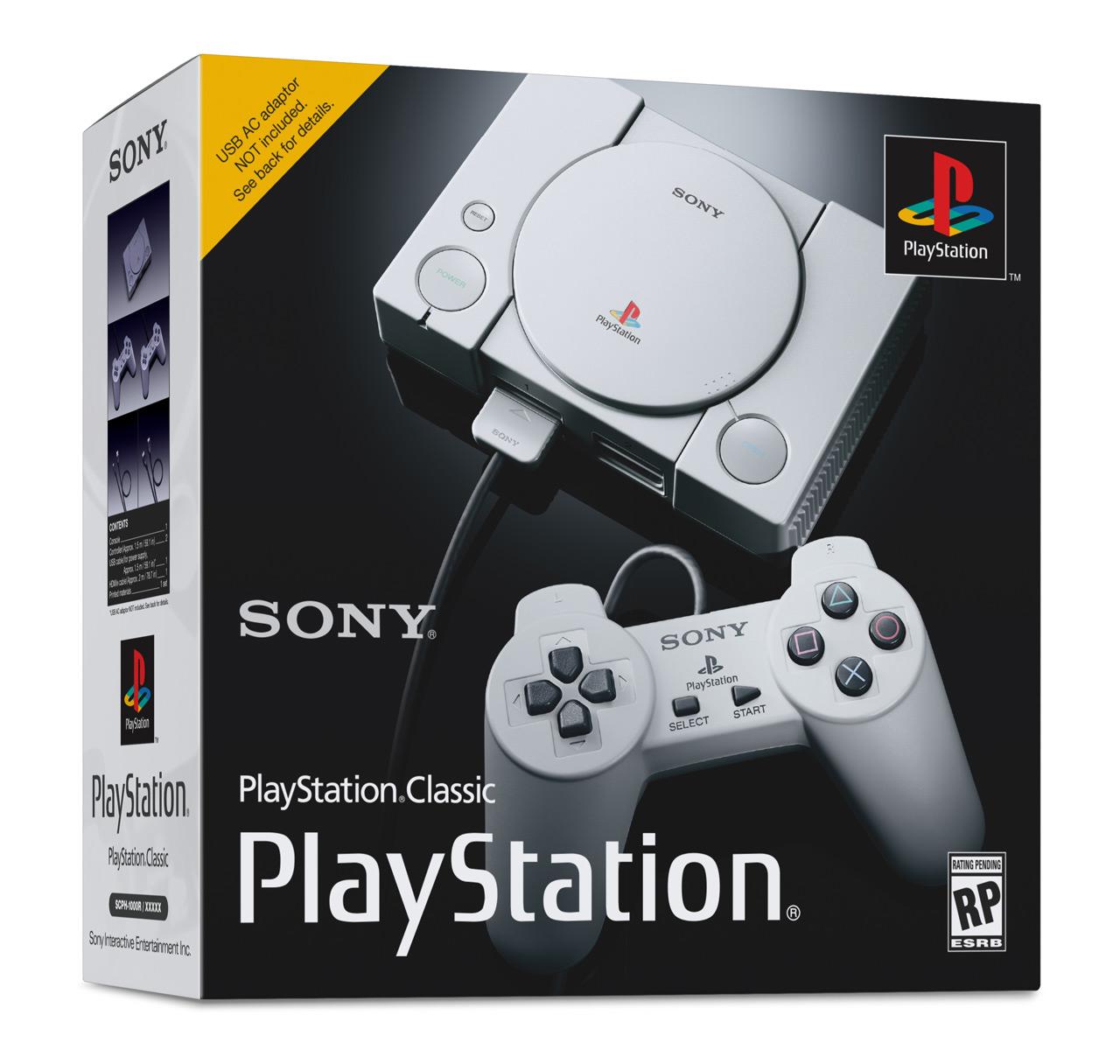 PlayStation Classic boite