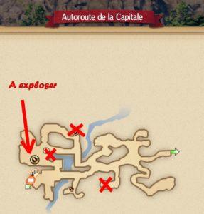 carte bonbon autoroute de la capitale